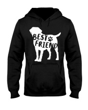 Best Friend Labrador Retriev Hooded Sweatshirt thumbnail