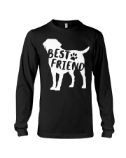 Best Friend Labrador Retriev Long Sleeve Tee thumbnail