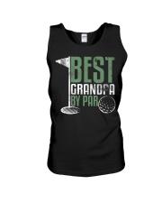 Best Grandpa By Par Fathers Day  Unisex Tank thumbnail