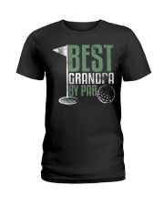 Best Grandpa By Par Fathers Day  Ladies T-Shirt thumbnail