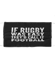 If Rugby was Easy Theyd call Cloth face mask thumbnail