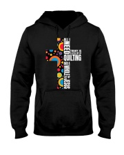 Funny Christian Quilter Sewi Hooded Sweatshirt thumbnail