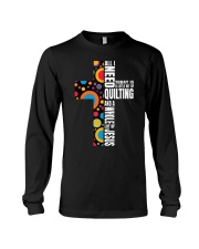 Funny Christian Quilter Sewi Long Sleeve Tee tile