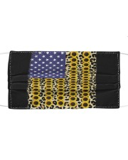 American Flag Leopard Sunflowe Cloth face mask thumbnail