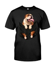 English Bulldog Pocket Premium Fit Mens Tee thumbnail