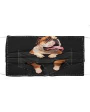 English Bulldog Pocket Cloth face mask thumbnail