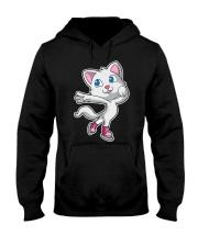 Figure Skating Cat T-Shirt K Hooded Sweatshirt thumbnail