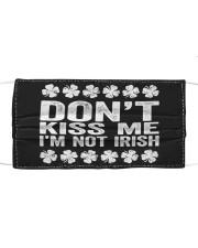 Don't Kiss Me I'm Not Irish T-Shirt S Cloth face mask thumbnail