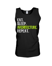 Eat Sleep Architecture Repe Unisex Tank thumbnail