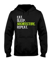Eat Sleep Architecture Repe Hooded Sweatshirt thumbnail