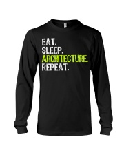 Eat Sleep Architecture Repe Long Sleeve Tee thumbnail