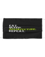 Eat Sleep Architecture Repe Cloth face mask thumbnail