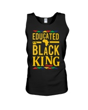 Dashiki Educated Black KING Unisex Tank thumbnail