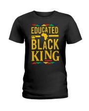 Dashiki Educated Black KING Ladies T-Shirt thumbnail