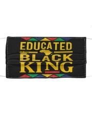 Dashiki Educated Black KING Cloth face mask thumbnail