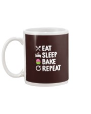 Eat Sleep Bake Repeat Bakery Funn Mug back