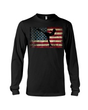 American Flag Figure Skater Long Sleeve Tee thumbnail