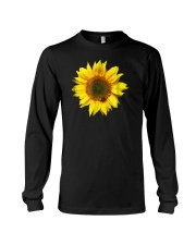 Flower Shirts Nice Sunflower Long Sleeve Tee thumbnail