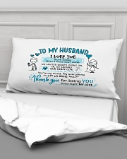 Sweet gift to your husband Rectangular Pillowcase aos-pillow-rectangular-front-lifestyle-03