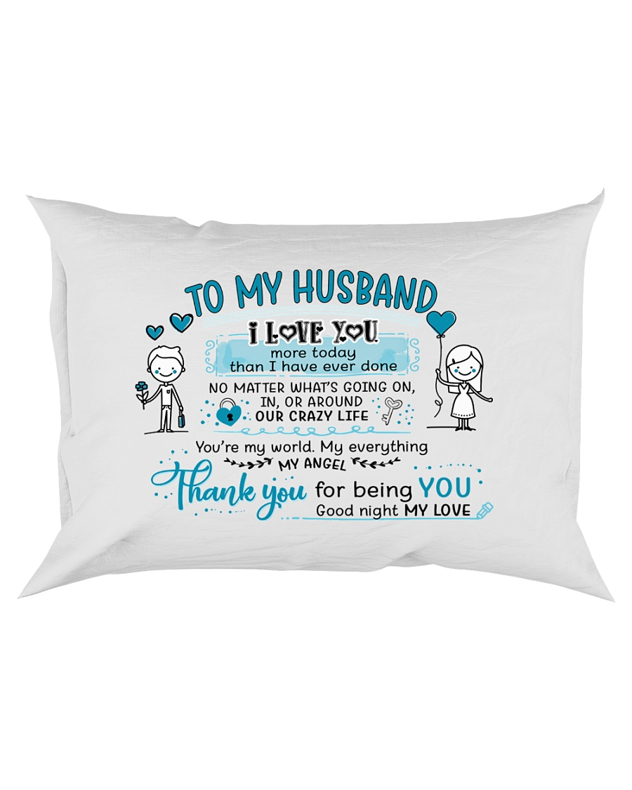 Sweet gift to your husband Rectangular Pillowcase
