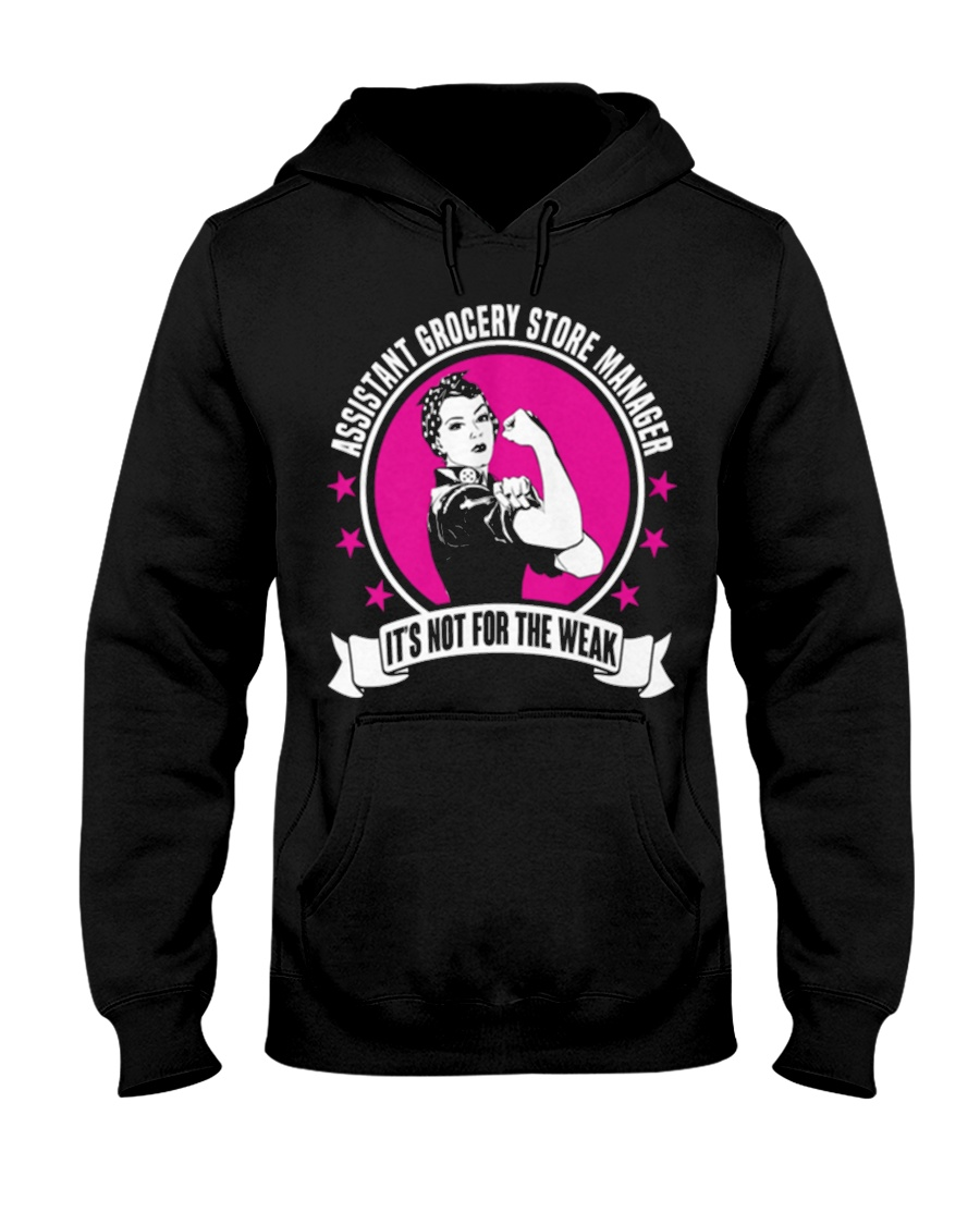 Assistant Grocery Store Manager 093535 Hooded Sweatshirt