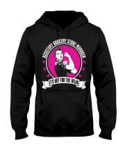 Assistant Grocery Store Manager 093535 Hooded Sweatshirt thumbnail