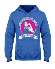 Assistant Grocery Store Manager 093535 Hooded Sweatshirt front