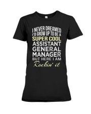 Assistant General Manager T  Premium Fit Ladies Tee thumbnail