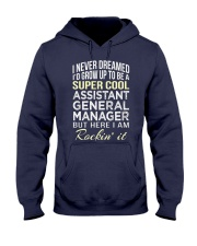 Assistant General Manager T  Hooded Sweatshirt front