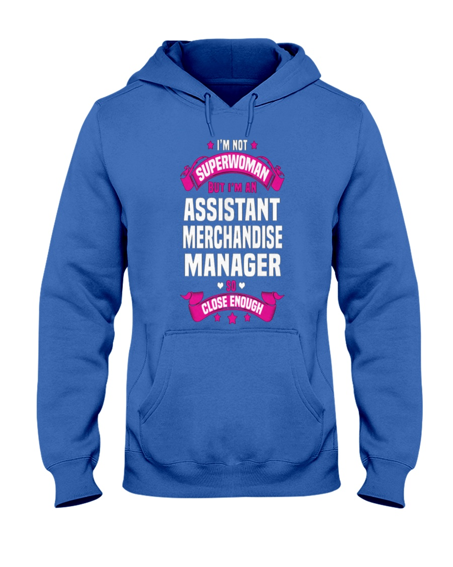 Assistant Merchandise Manager T Shirts 093243 Hooded Sweatshirt