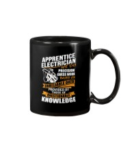 Apprentice Electrician We Do Precision Mug thumbnail