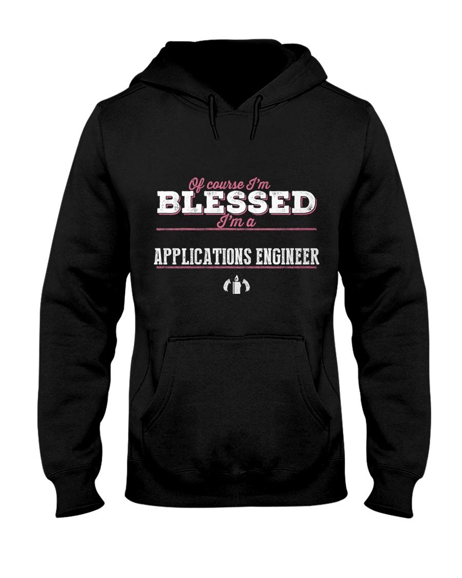 Applications Engineer Of Cour Hooded Sweatshirt