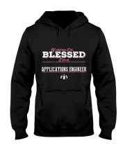 Applications Engineer Of Cour Hooded Sweatshirt front