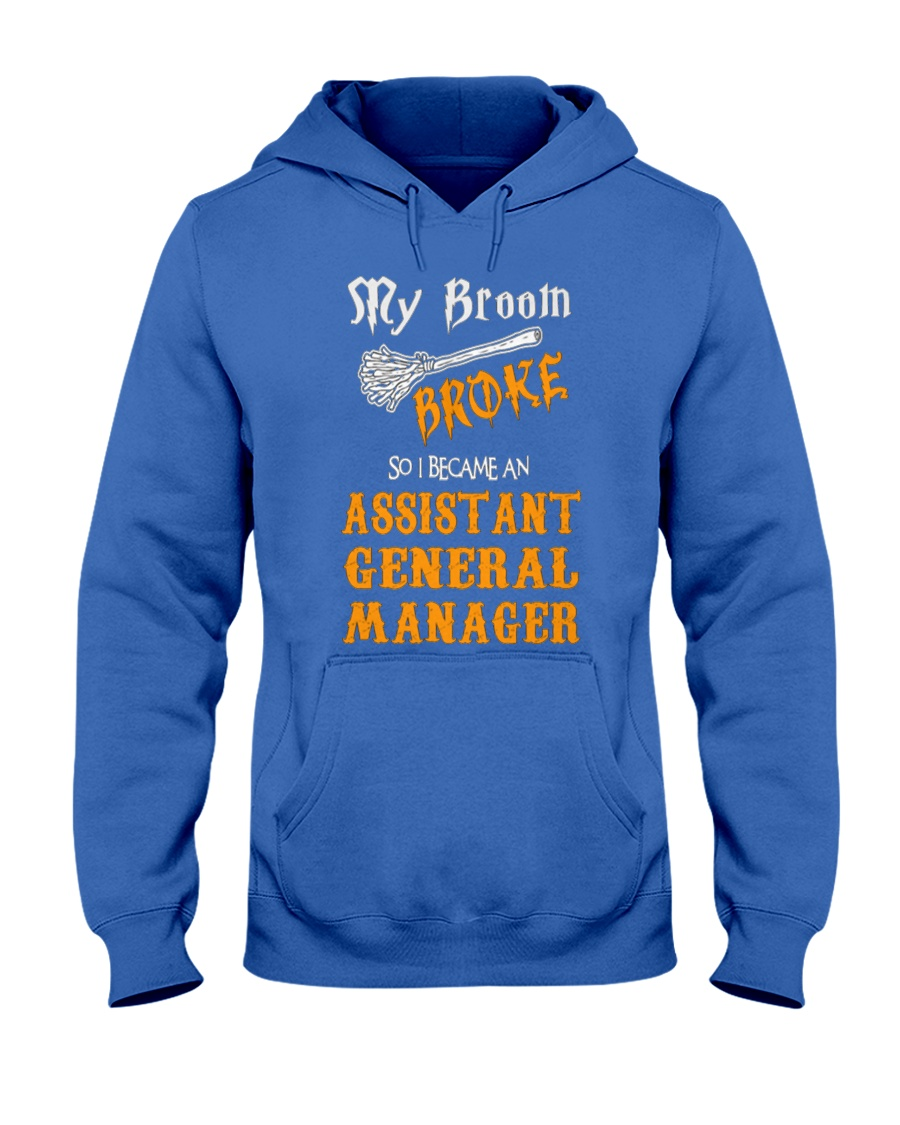 Assistant General Manager 093922 Hooded Sweatshirt