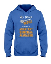 Assistant General Manager 093922 Hooded Sweatshirt front