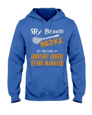 Assistant Grocery Store Manager 1 Hooded Sweatshirt front