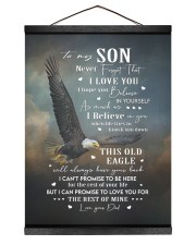 THIS OLD EAGLE - BEST GIFT FOR SON FROM DAD Hanging Canvas tile