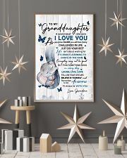 To Granddaughter Never Forget How Much I Love You 11x17 Poster lifestyle-holiday-poster-1