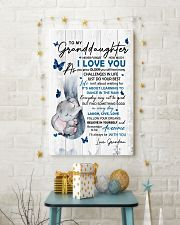 To Granddaughter Never Forget How Much I Love You 11x17 Poster lifestyle-holiday-poster-3