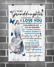 To Granddaughter Never Forget How Much I Love You 11x17 Poster aos-poster-portrait-11x17-lifestyle-18