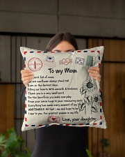 """TO MY MOM PILLOW - I LOVE YOU MOM Indoor Pillow - 16"""" x 16"""" aos-decorative-pillow-lifestyle-front-03"""