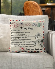 """TO MY MOM PILLOW - I LOVE YOU MOM Indoor Pillow - 16"""" x 16"""" aos-decorative-pillow-lifestyle-front-04"""
