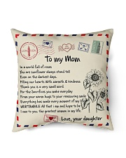"""TO MY MOM PILLOW - I LOVE YOU MOM Indoor Pillow - 16"""" x 16"""" front"""