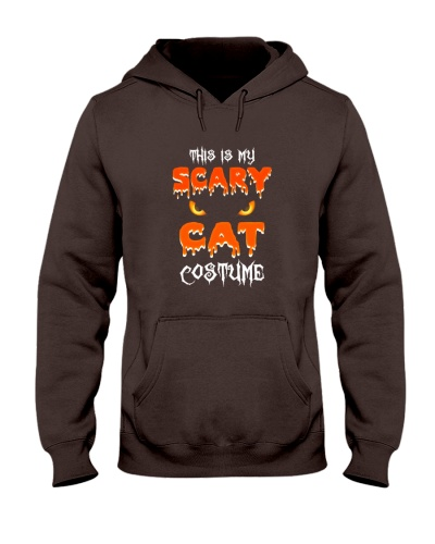 Is My Scary Cat Costume Halloween Tee Shirts
