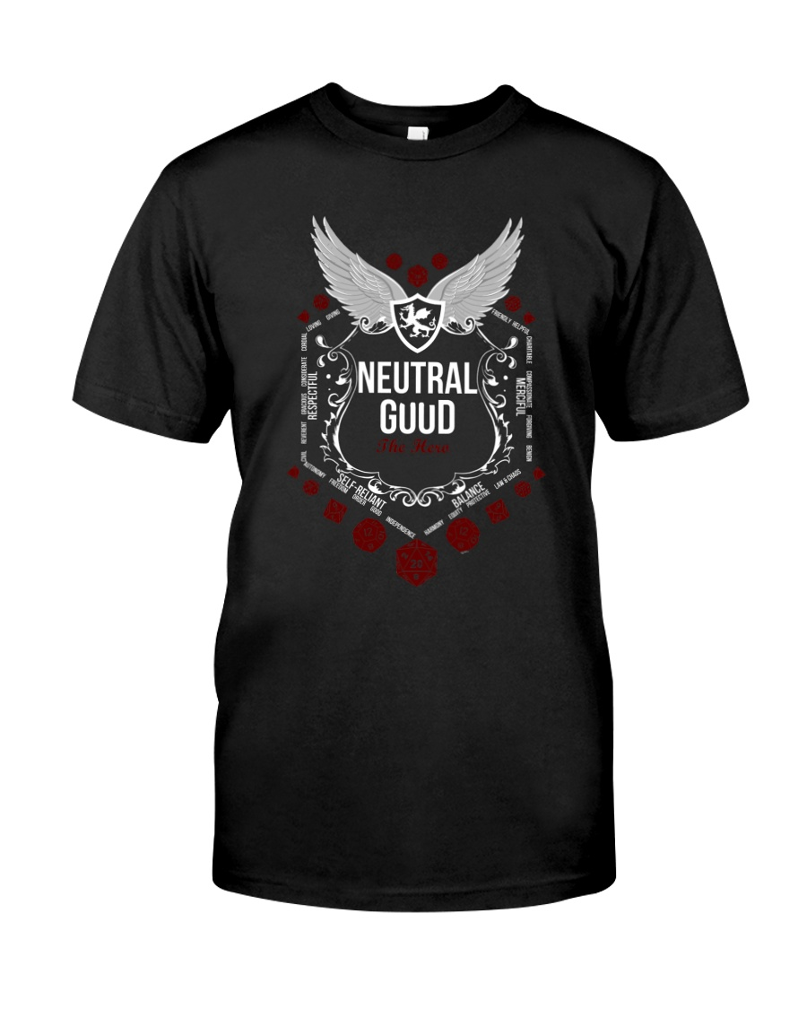 Neutral Good - White Alignment Series Classic T-Shirt