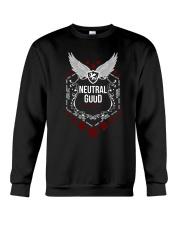 Neutral Good - White Alignment Series Crewneck Sweatshirt thumbnail