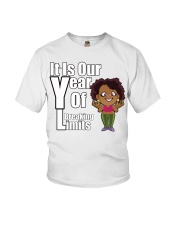 It is our year of Breaking Limits Women Youth T-Shirt tile