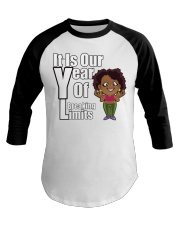 It is our year of Breaking Limits Women Baseball Tee tile