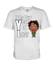 It is our year of Breaking Limits Women V-Neck T-Shirt tile
