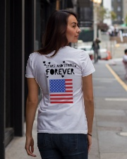 Stars and Stripes Forever - Design on Back Premium Fit Ladies Tee lifestyle-women-crewneck-back-1